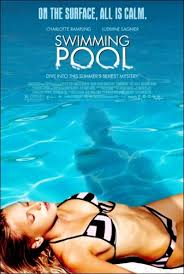 SWIMMING POOL (2003) and UNDER THE SAND (2002) DVD foreign film musings by SEBASTIAN