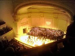 Carnegie Hall, credit: www.gnchoral.org
