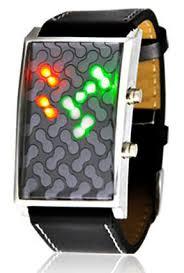 ساعت مچی دیجیتال ال ای دی مدل استورم مولکولی میکروبی