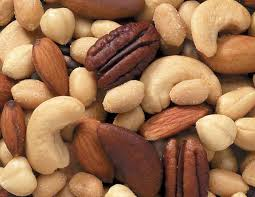 Mixed nuts: Credit: www.cleanfoodconnection.com