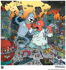 Bender vs. Zoidberg