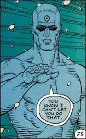 WATCHMEN!!! Update… Dr. Manhattan origin revealed on a retro newscast!!! by COOP (PLUS… The Small Town Critic needs YOUR HELP!!!)