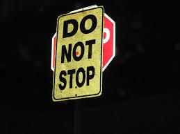 دمعة نهاية ونهاية دمعة بسمة 800px-DoNotStop_Stopsign.jpg