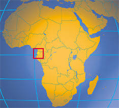 Situación de Guinea Ecuatorial en África