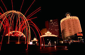 Macua casinos at night