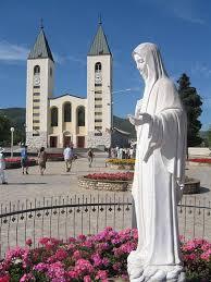 chiesaemariasb4 Medjugorie: Un segno dal sole ai pellegrini di Paolo Brosio sul ponte di Mostar. Video