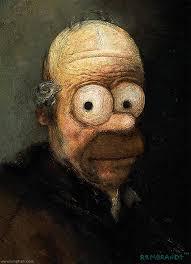 Homer v oleji