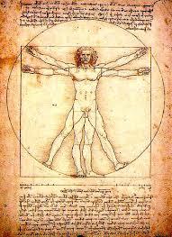 The Vitruvian Man (c. 1485) Accademia, Venice.