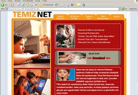 temiz net, ebeveyn kontrol programı, kötü yazılım engelleme, site erişimini engelleme gencsahne.tr.gg