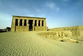 Templo sagrado de Dendera