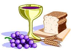 pão e vinho na páscoa