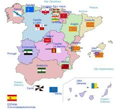 17 Comunidades autónomas en España