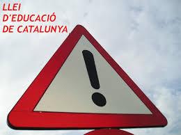 Llei d'educació de Catalunya (Ley de educación de Cataluña)